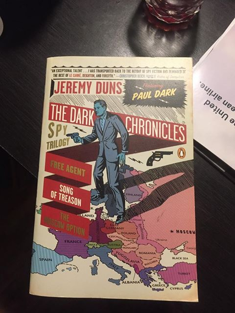 Jeremy Duns' The Dark Chroncles, Shane Whaley Spybrary Host's favorite book cover