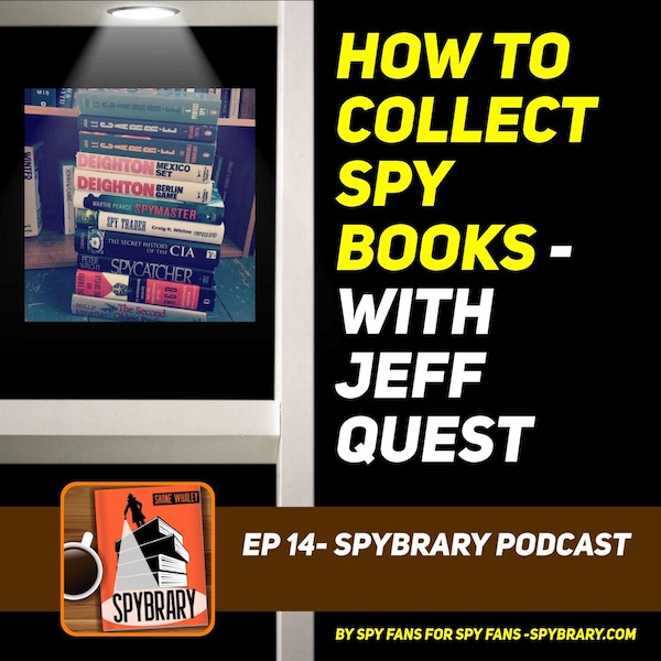 Collecting Spy Books