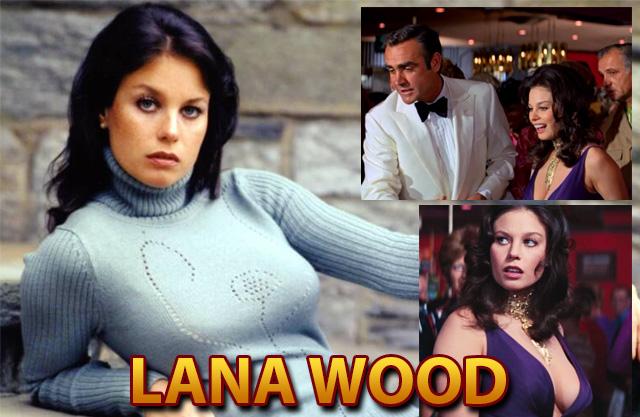 Lana Wood at Spy Con