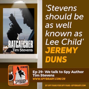 29: Interview with Thriller Author Tim Stevens