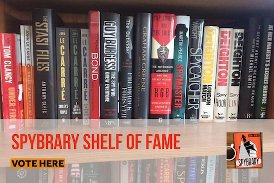 Spybrary Shelf of Fame Vote here