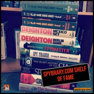 40: Vote in the Spybrary Shelf of Fame