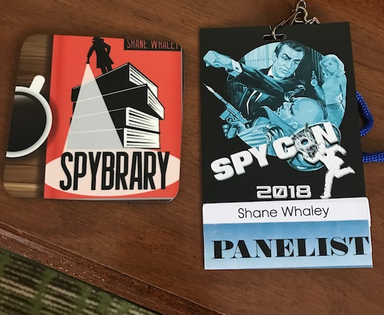 Spybrary Spy Podcast proud to support Spy Con 2018