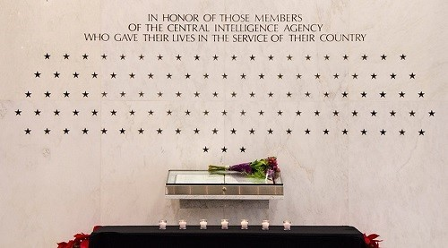 How the CIA honors their fallen heroes.