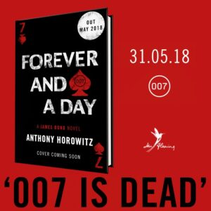 007 author Anthony Horowitz on tour