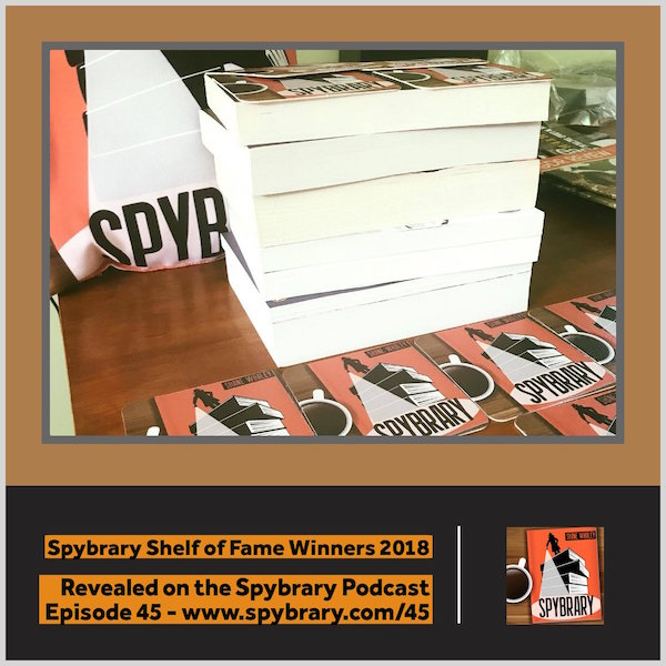 Spybrary Shelf of Fame Winners 2018