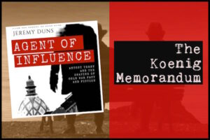 The Koenig Memo – Agent of Influence by Jeremy Duns