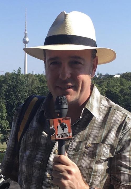 Shane Whaley, host of the Spybrary Spy Podcast