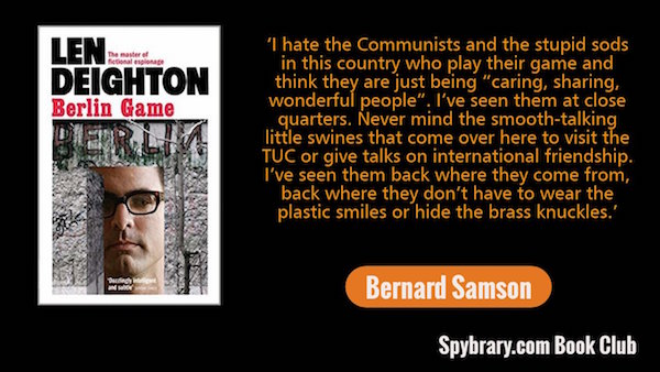 Bernard Samson - Berlin Game