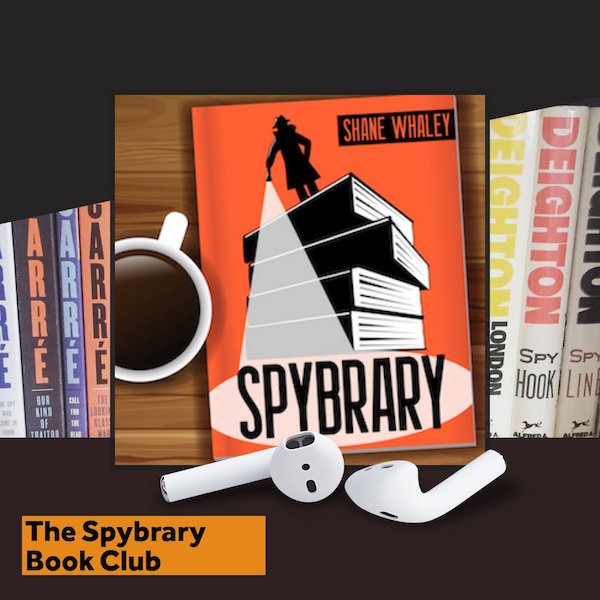 The Spybrary Spy Podcast Book Club