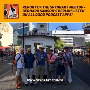 Spybrary Len Deighton/Bernard Samson meet up in Berlin 2018