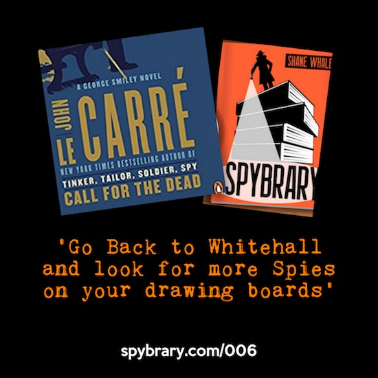 Call for the Dead by John Le Carre - Spybrary Deep Dive with Matthew Bradford