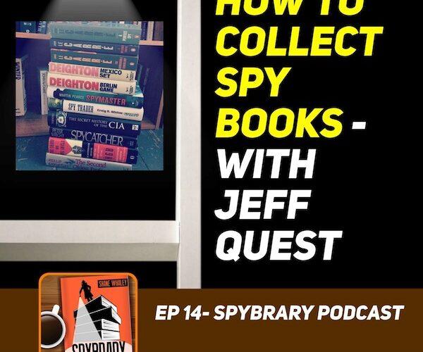 11Collecting Spy Books