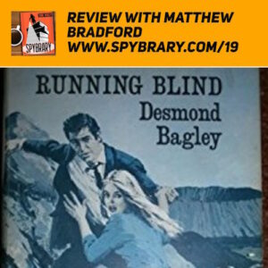 Desmond Bagley Classic Running Blind reviewed by Matthew Bradford