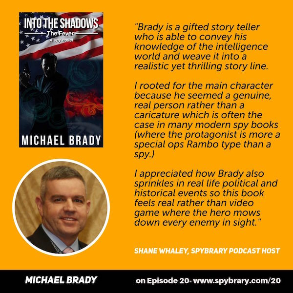 Host verdict on Into the Shadows - The Fever by Michael Brady