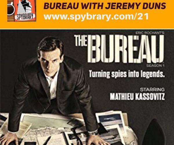 Spy Author Jeremy Duns review of The Bureau