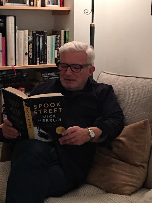 David Craggs enjoying Mick Herron's Spook Street