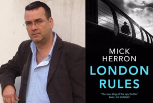 Mick Herron talks London Rules on The Spybrary Spy Podcast