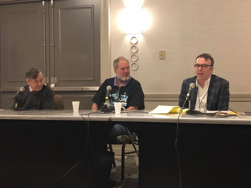 The Podcaster who came in from the Cold, Shane in the John le Carre corner of the Fleming v le Carre debate at Spy Con 2018