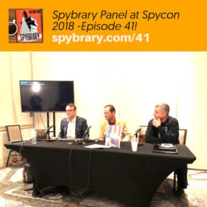 Spybrary at Spycon with Shane Whaley, Michael Brady and C.G.Faulkner
