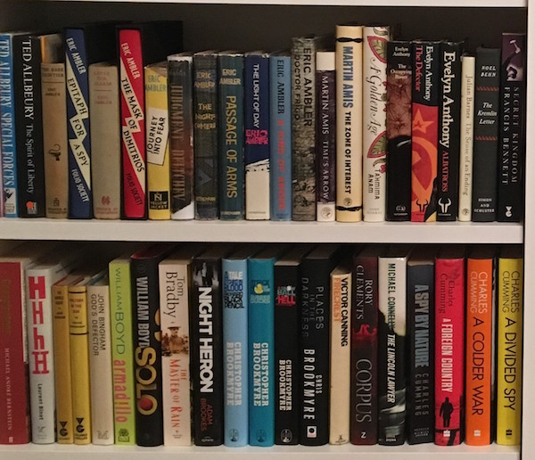 Tim Shipman's ABC of spy books - Ambler, Bingham and Cumming!