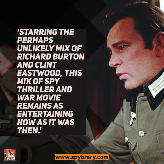 Where Eagles Dare Review on Spybary