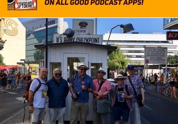 11Spybrary Len Deighton/Bernard Samson meet up in Berlin 2018