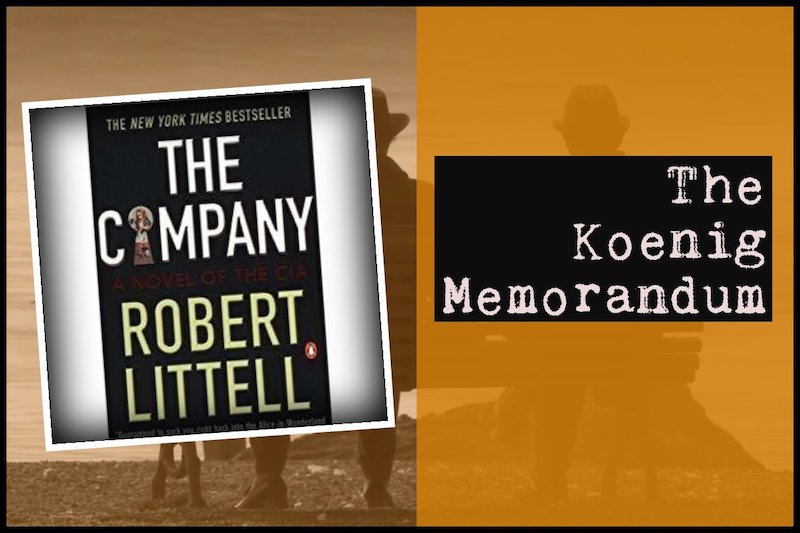 Spy Book review - The Company by Robert Littell.