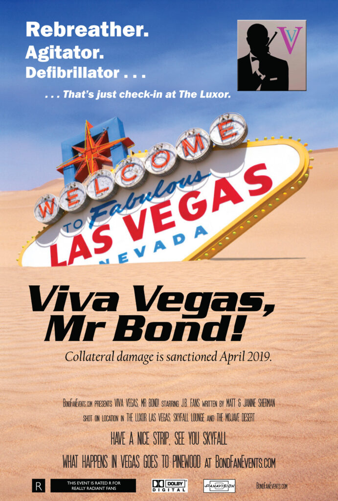 Bond Fan Events Las Vegas