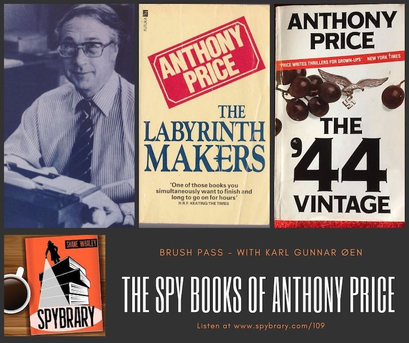 Anthony Price writer