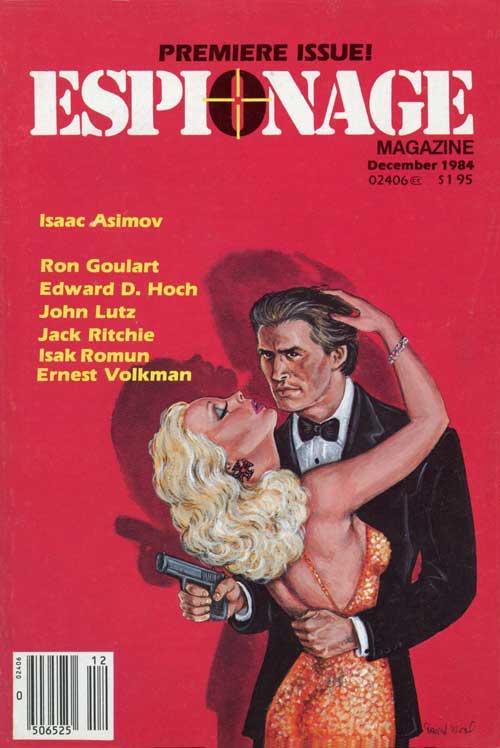 Espionage Magazine First Issue