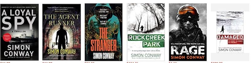 Simon Conway Author