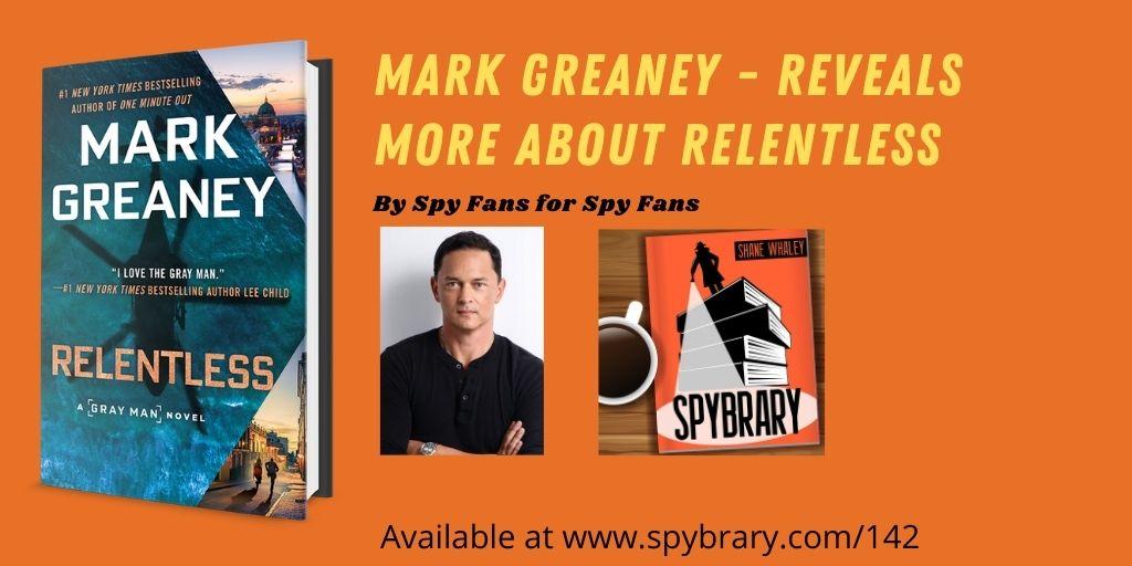 Mark Greaney Relentless