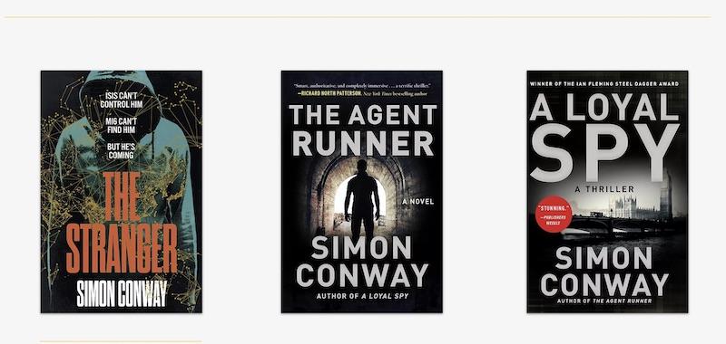 Simon Conway books